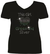 Rhinestone Philadelphia Football This Girl T Shirt sv OOFA