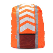 High Viz Water-Resistant Backpack Rucksack Cycling or Running Bag Cover