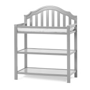 Child Craft Penelope Dressing Table, Cool Grey