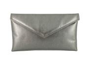 LONI Women's Synthetic Envelope Clutch /Bag