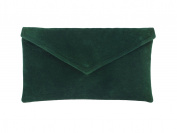 LONI Women's Synthetic Neat Envelope Clutch Bag
