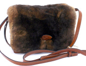 Patricia Nash Lanza Leather Fur Crossbody
