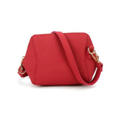 Voberry Women Simple Retro Small Square Shoulder bag Mobile Phone Coin Purse Bag Crossbody bag