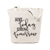 The Cotton & Canvas Co. Beach, Shopping and Travel Resusable Shoulder Tote and Handbag