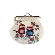 Small Wallet,Hemlock Women Vintage Owl Hand Bag Retro Lady Clutch Purse