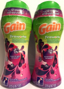 Gain Fireworks In-Wash Scent Booster - Moonlight Breeze - Compatible With ALL Machines, Including HE (High Efficiency) - Net Wt. 290ml (275 g) Each - Pack of 2