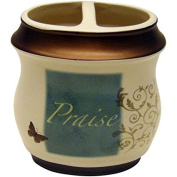 Mainstays Butterfly Blessing Decorative Bath Collection - Toothbrush Holder
