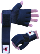 BooM Pro Boxing Gel MMA Grappling Gloves Neoprene Wrist Support Wraps Support MMA, Inner Glovers, Punch Bag