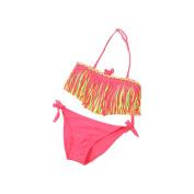 Bluester 1Set Baby Girls Summer Swimwear Tassel Kids Split Nylon Swimsuit Bikini Set,for 3 to 12 year old girls