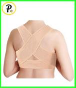 Presadee Women's Posture Corrector Upper Shoulder Hunchback Straightener Back Shaper Brace Strap