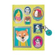 Pet Portraits Locked Diary
