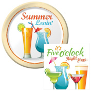 Summer Lovin' Dessert Plates & Napkins Party Kit for 8