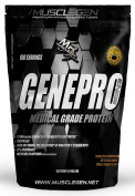 Medical Grade Protein, GENEPRO by Musclegen Research - Premium Protein for Absorption, Muscle Growth & Mix-Abilty. Gluten Free, No Sugar, Flavourless and Mixes with any Drink. 150 Servings 2.3kg