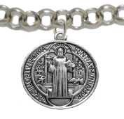 Saint Benedict Protect Me From Harm Prayer, From Evil, From The Devil. Nickle, Lead Cadmium Free