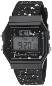Neff Unisex NF0226BLCK Flava XL Surf Digital Display Chinese Automatic Black Watch