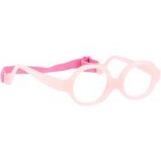 Miraflex Maxi Baby Kids Eye Glass Frames | 38/12 Clear Pink | Age:2-5