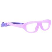 Miraflex Eva Sport Shape Kids Eye Glass Frames | 43/15| Lavender | Age:7-10 Yrs.