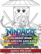 Ninjago Masters of Spinjitzu Coloring Book for Adults & Kids  : Coloring All Your Favorite Ninjago Characters in Ninja World