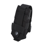OneTigris MOLLE Flashlight Holster Torch Belt Holder for Fenix NITECORE Small Tactical Tool Pouch
