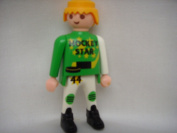 Playmobil Replacement Toy Figure ; Hockey Star
