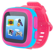 Game Smart Watch for Kids Children Boys Girls with Camera 3.8cm Touch 10 Games Pedometer Timer Alarm Clock Toy Wrist Watch Health Monitor