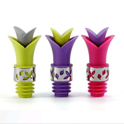 Pawkyjar Silicone Wine and Beverage 2 in 1 Wine Pourer Bottle Stoppers Set