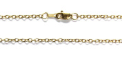 """18kt 18K Yellow Solid Gold 18"""" 20"""" 1.9mm Cable Necklace Chain Lobster"""