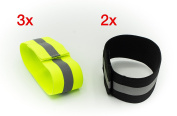 Reflective Band Reflective Tape Safety Set of 5 Coloured