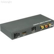 Composite/S-Video & Audio to HDMI Converter - Polebright update