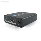 HDMI to HDMI Up/Down Scaler for Resolutions Up to 4K - Polebright update
