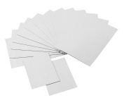 totalElement Strong Flexible Self-Adhesive Magnetic Sheets, 4 x 6 and 2 x 3 Peel & Stick Refrigerator Magnet Sheets for Photos and Art