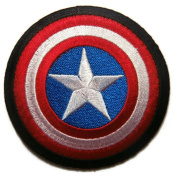captain america patch iron on Sew on Embroidered Patch application avengers shield LOGO Badge