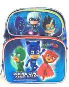 PJ Masks Backpack 30cm Boys Book bag We're on our way School Backpack