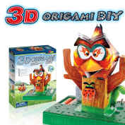 3D Origami Science Kits Electronic Physics Toy for Kids, DIY Creative Toy Electronic Discovery Kit