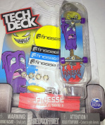 Popsicle Tech Desk Series 2 Finesse Skateboard 96mm Board with Stand Rare