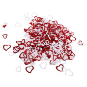 Generic Metallic Plastic Confetti Sprinkles Heart Wedding Birthday Foil Scatters