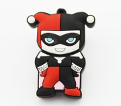 8gb Harley Quinn Flash Drive with Keychain , Memory Storage Device, Thumb Drive