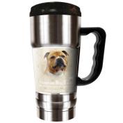 The CHAMP - 590ml Travel Tumbler - Staffordshire Bull Terrier
