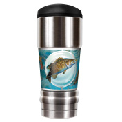 The MVP - 530ml Travel Tumbler - Bass And Trout - By Mark Susinno