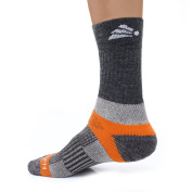 Native Planet INNERGY Performance Cushioned Crew Unisex Hiking / Outdoors Socks, Mild - Cold Weather