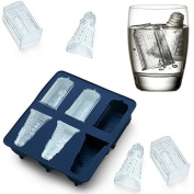 Lifefun® Silicone Ice Cube Tray Tardis & Daleks Chocolate Candy,Cookies Mould Maker