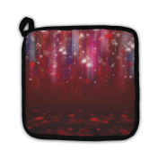 Gear New 6065131-GN-PH1 Colourful Lights on Red Pot Holder