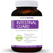 Intestinal Guard - Worm and Intestinal Cleanser for Humans - Wormwood & Black Walnut-  .   - 60 Capsules