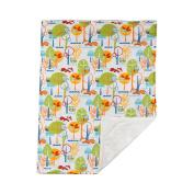 Poppi Living Stroller Infant Forest Blanket