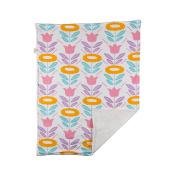 Poppi Living Stroller Infant Flower Blanket