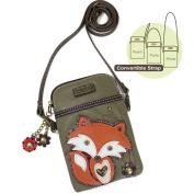 CHALA Crossbody Cell Phone Purse-Women PU Leather Multicolor Handbag with Adjustable Strap