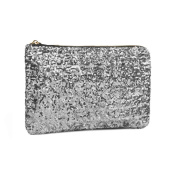 MioCloth FakeFace Dazzling Glitter Bling Sequins Handbag Clutch Purse Evening Party Bag