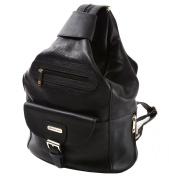 Womens Alpine Swiss Genuine Leather Backpack Purse Handbags - 1 Year Mfg's Warranty