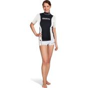 Mares Women's Fire Skin Dives Short Sleeve Rash Guards