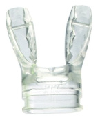 Mares Jax Heat Moulded Mouthpiece. Clear Or Black.